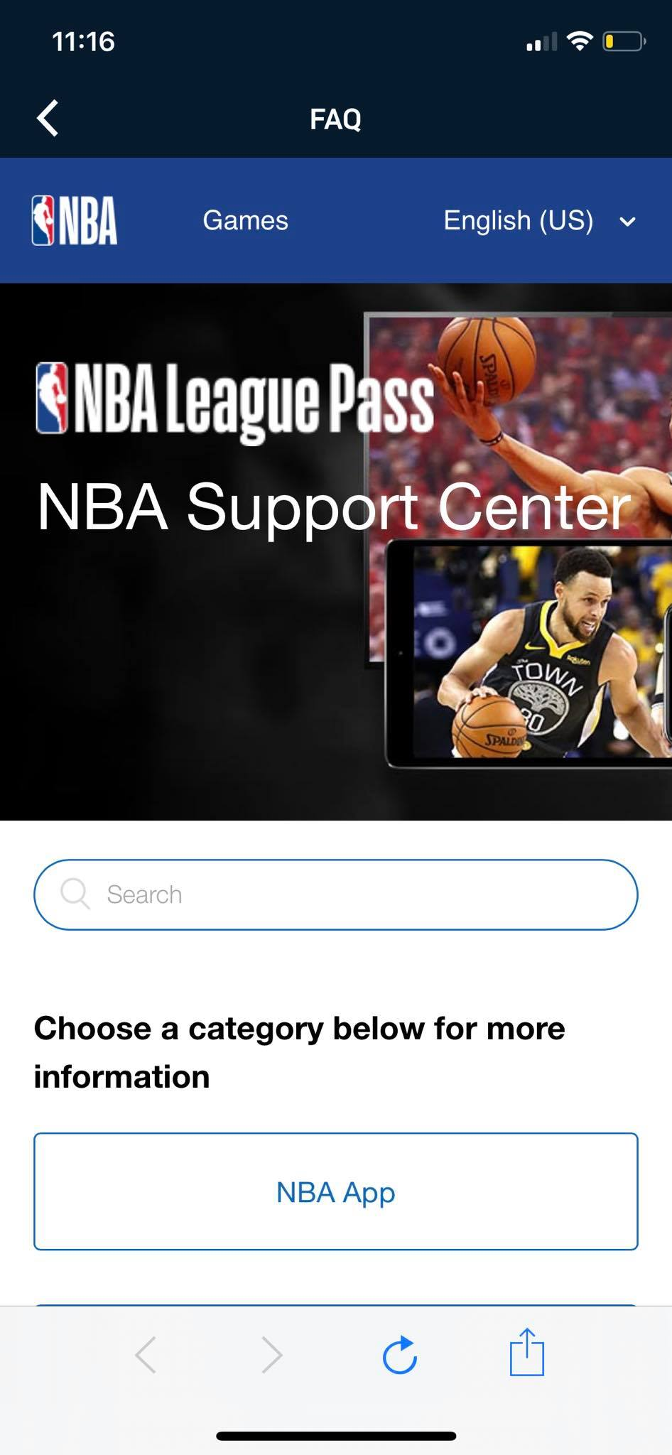 FAQ on iOS by NBA from UIGarage