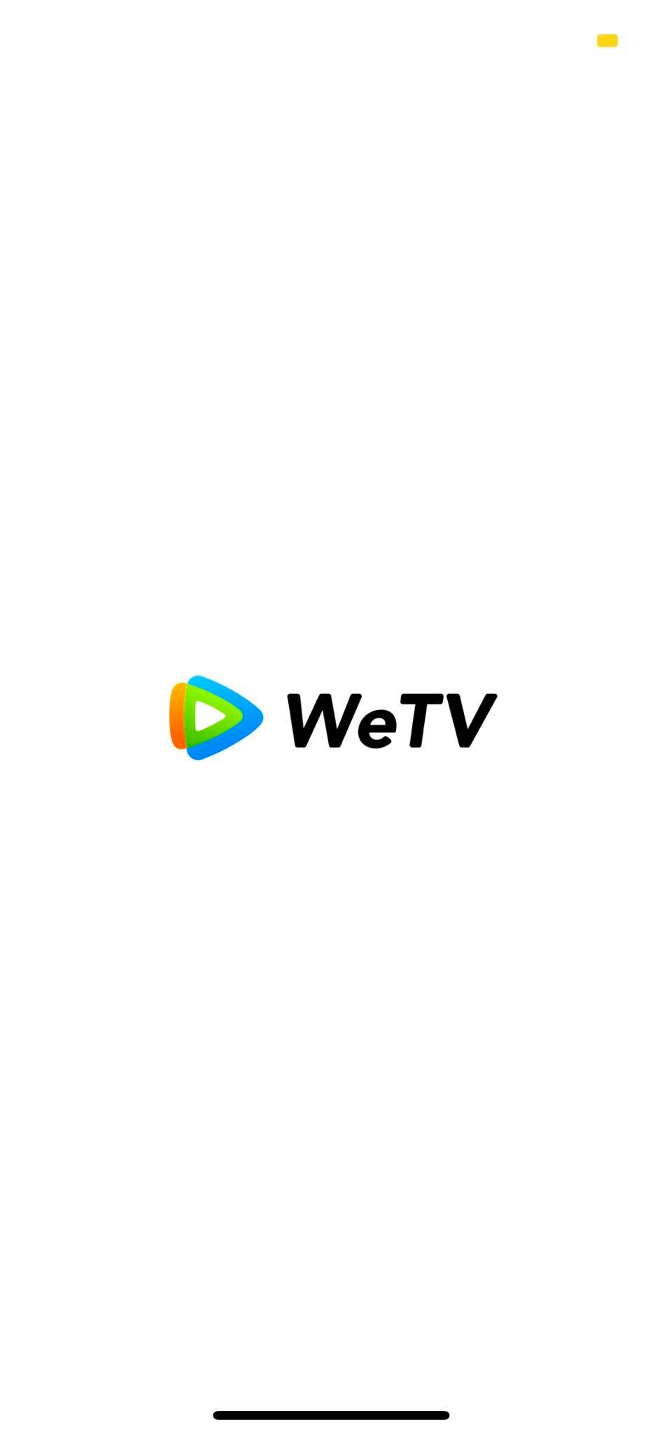 Launch Screen on iOS by WeTV from UIGarage