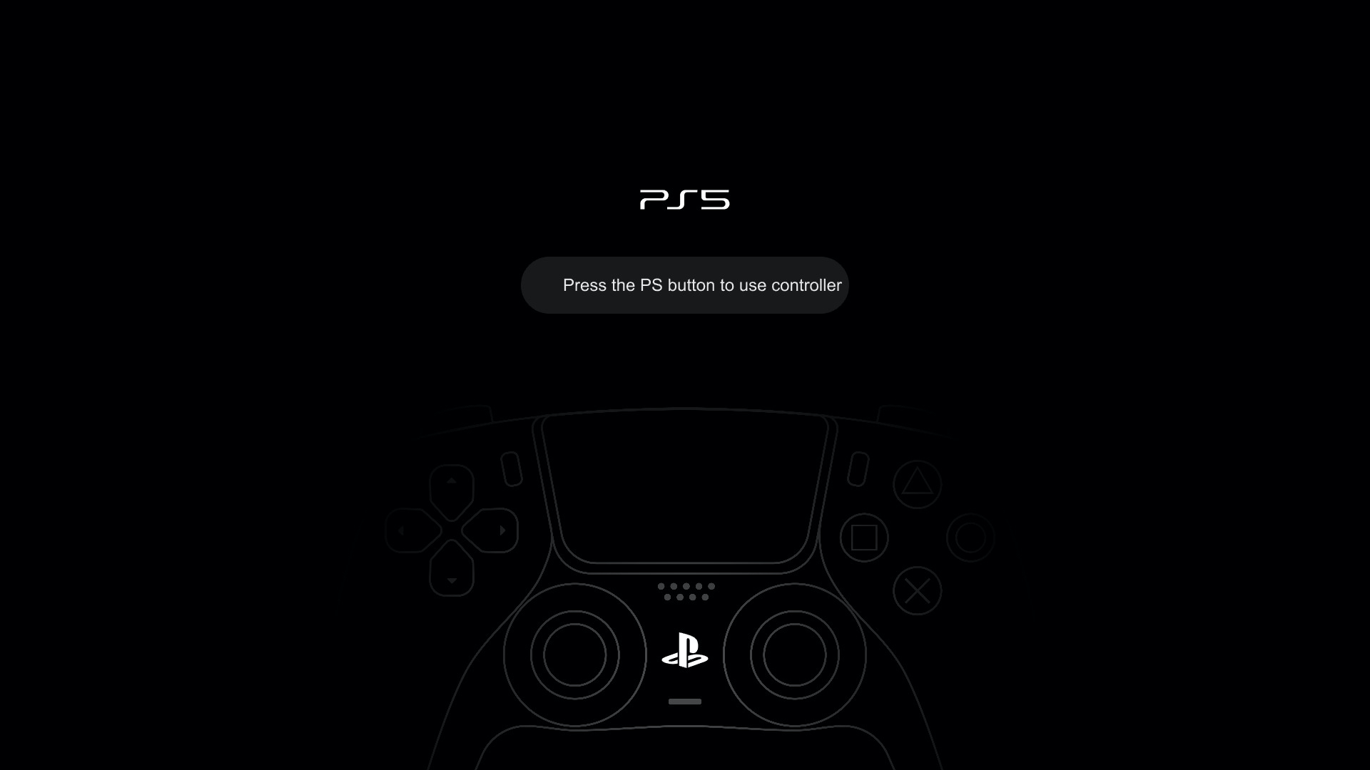 PlayStation 5 Concept UI for InVision Studio from UIGarage