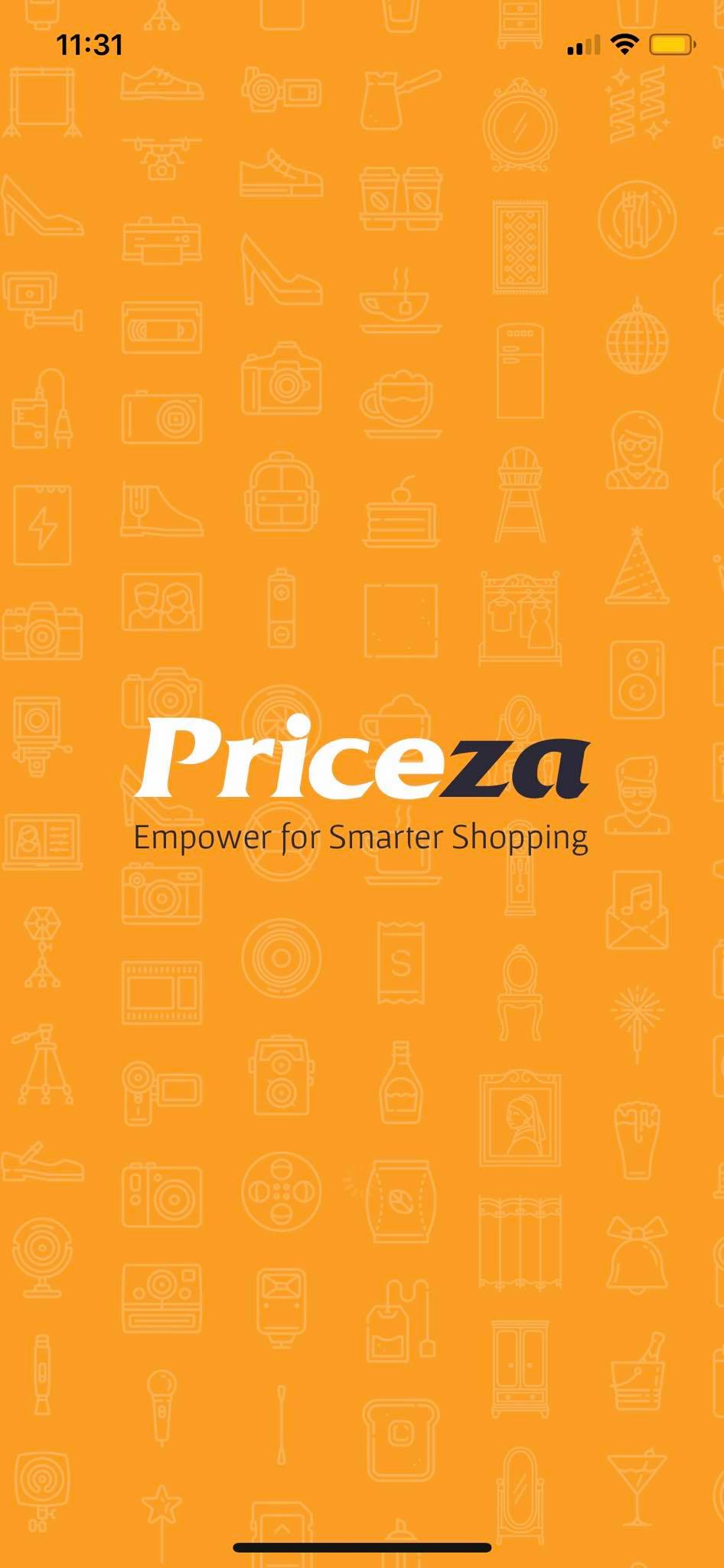 Launch Screen on iOS by Priceza from UIGarage
