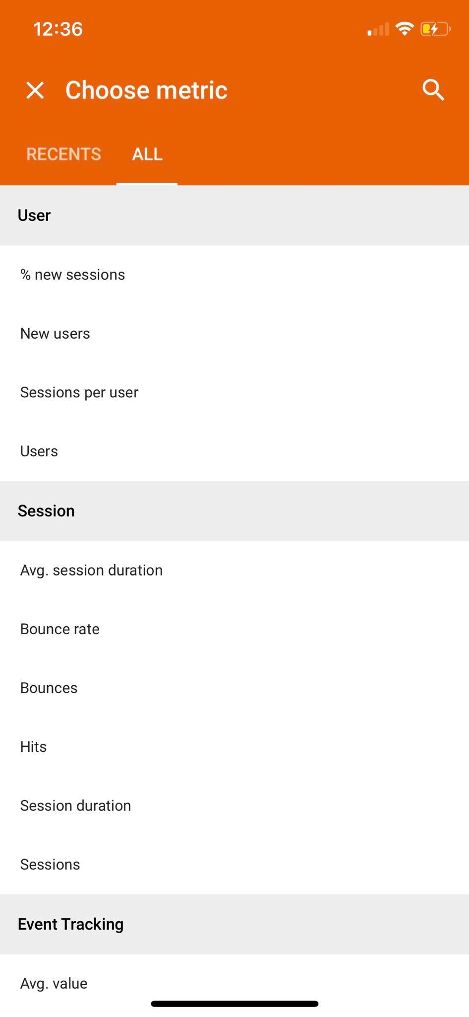 Metric on iOS by Google Analytics from UIGarage
