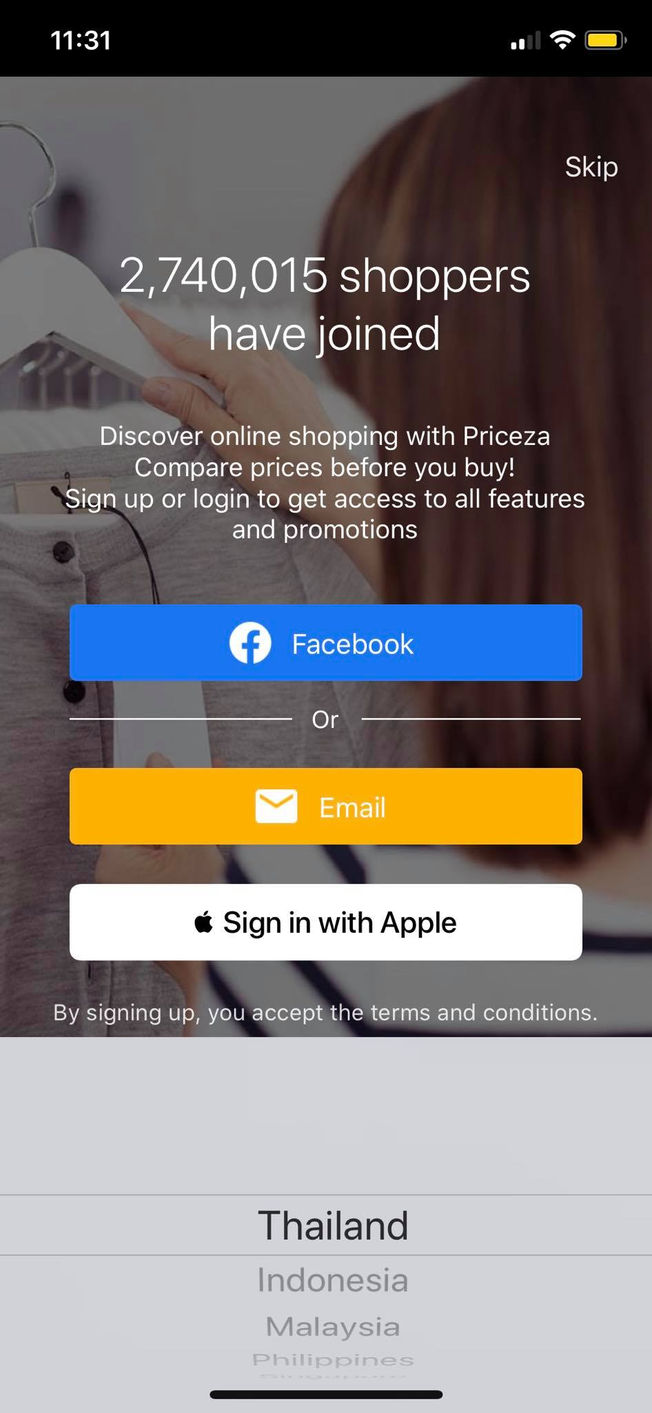Place Picker on iOS by Priceza from UIGarage