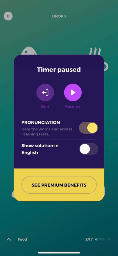 Timer on iOS by Drops from UIGarage