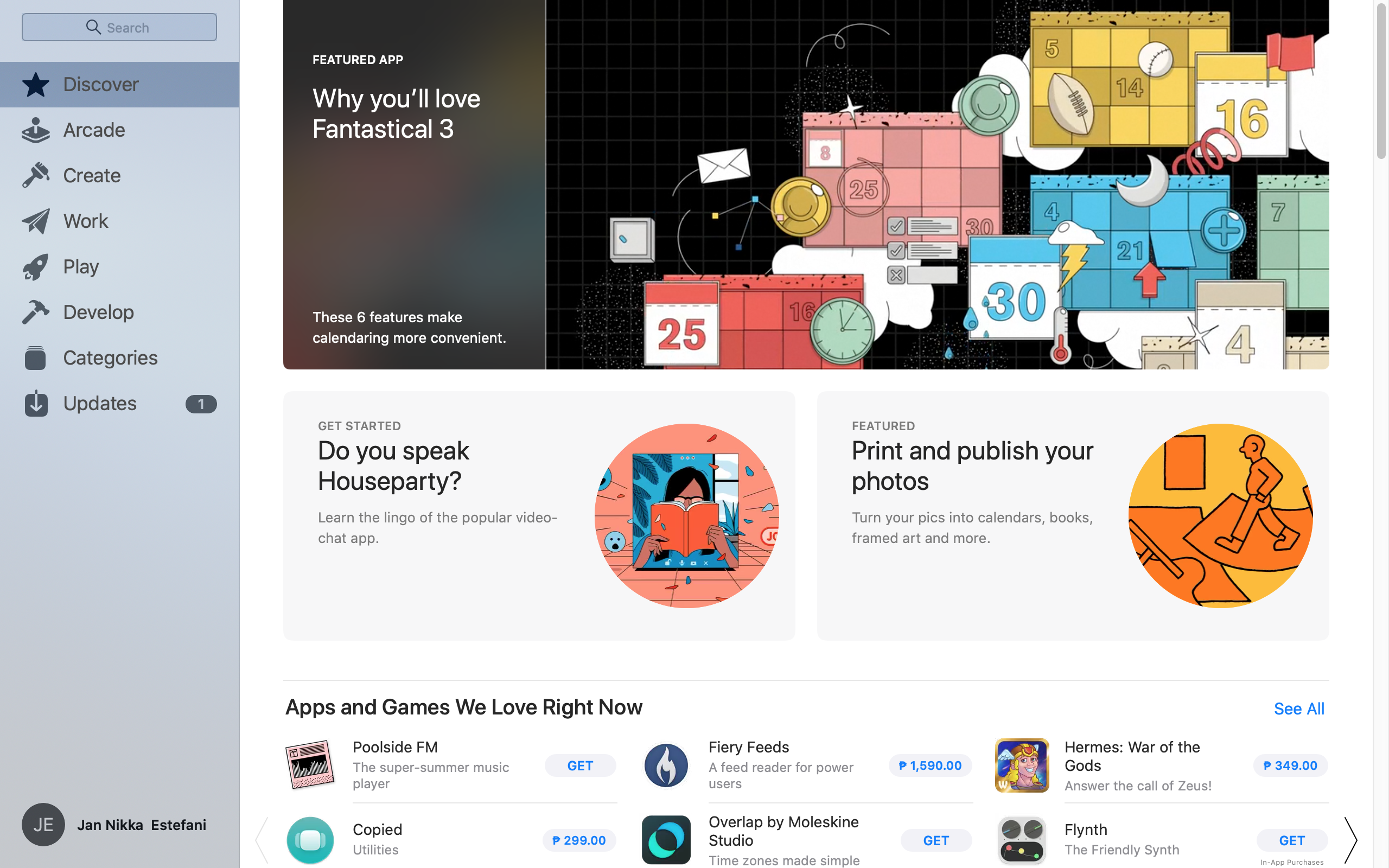 Inspiration Home On Macos By App Store Ui Garage