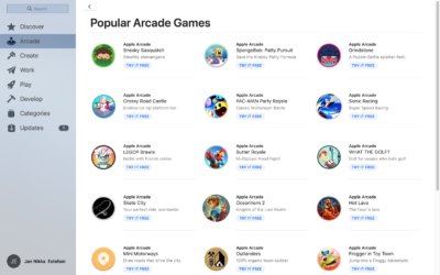 Popular Arcade Games on MacOS by App Store from UIGarage