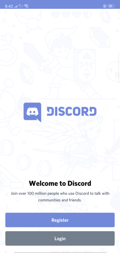 Welcome on Android by Discord from UIGarage