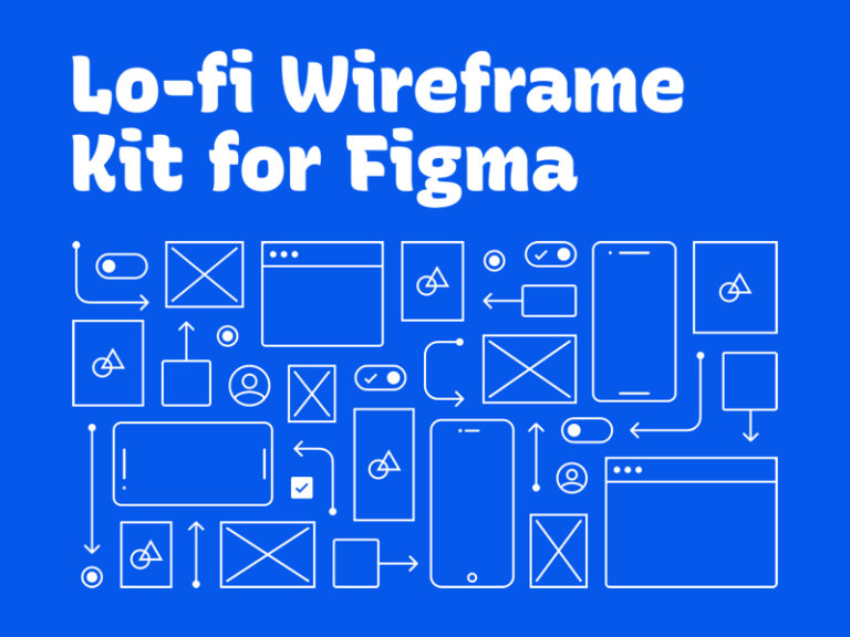Lo-fi Wireframe Kit for Figma from UIGarage
