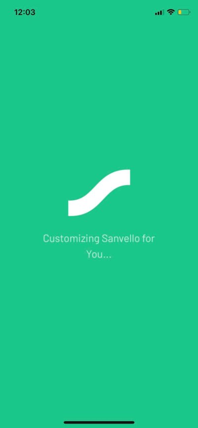 Loading on iOS by Sanvello from UIGarage