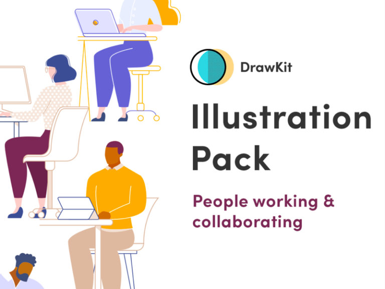People Working Collaborating Illustrations from UIGarage