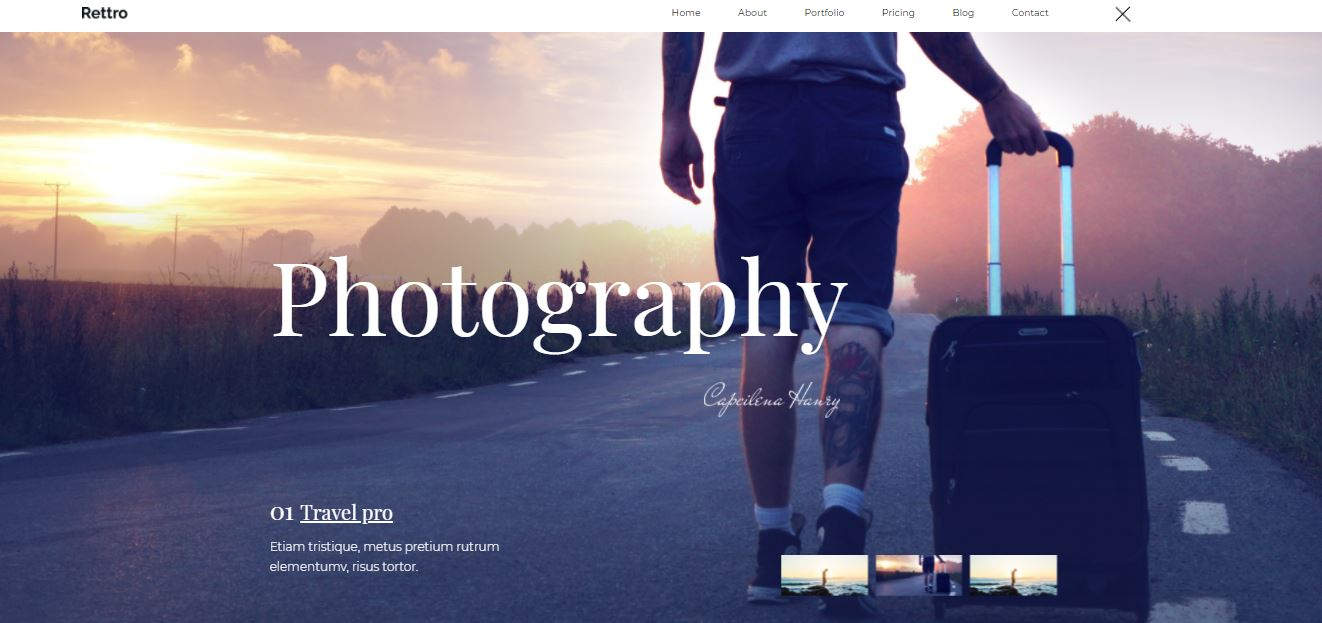 Home Page on Web by Rettro from UIGarage