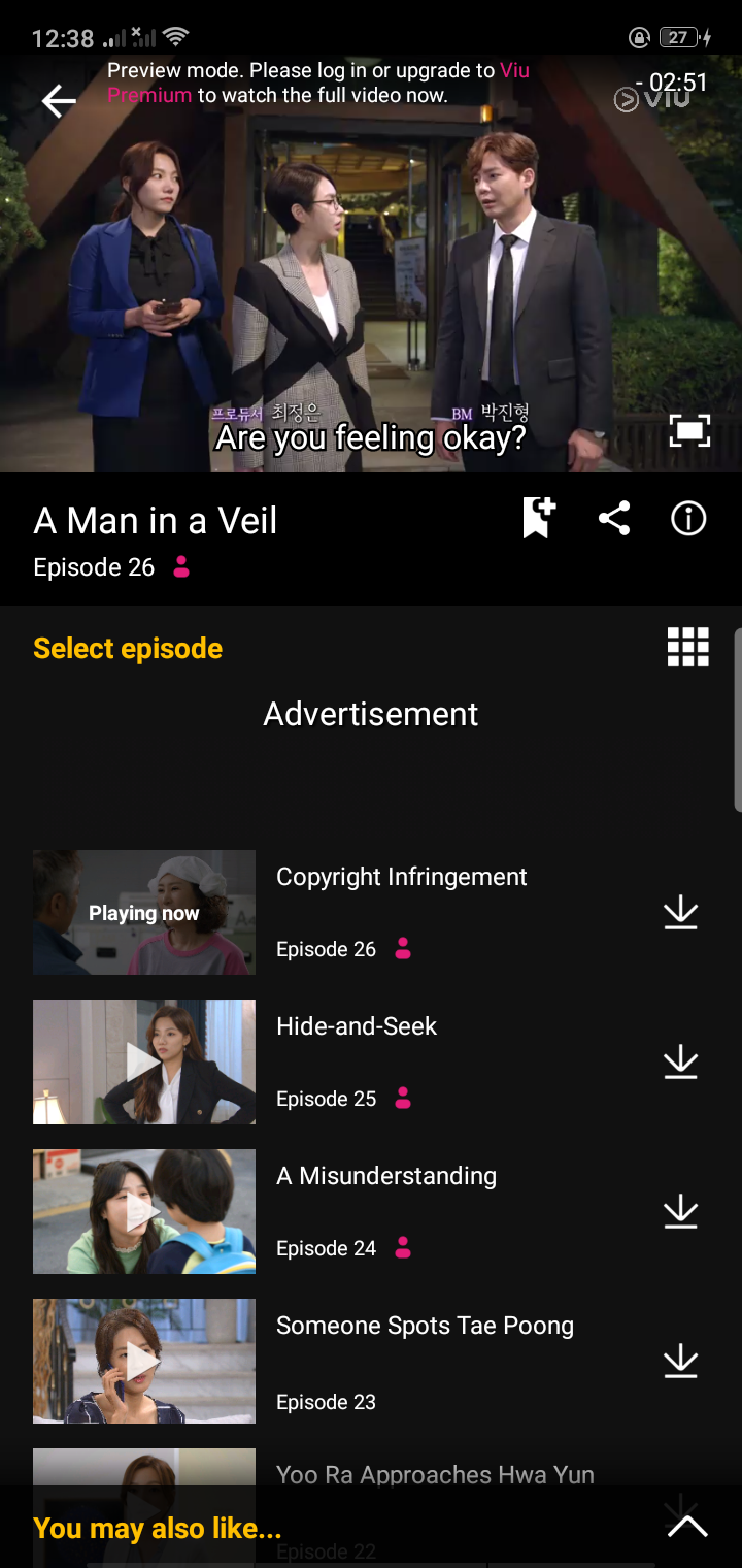 Video Playlist on Android by Viu from UIGarage