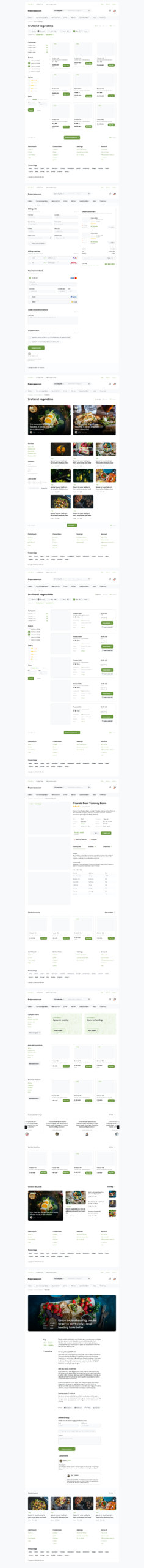 eCommerce Free Templates for Figma from UIGarage