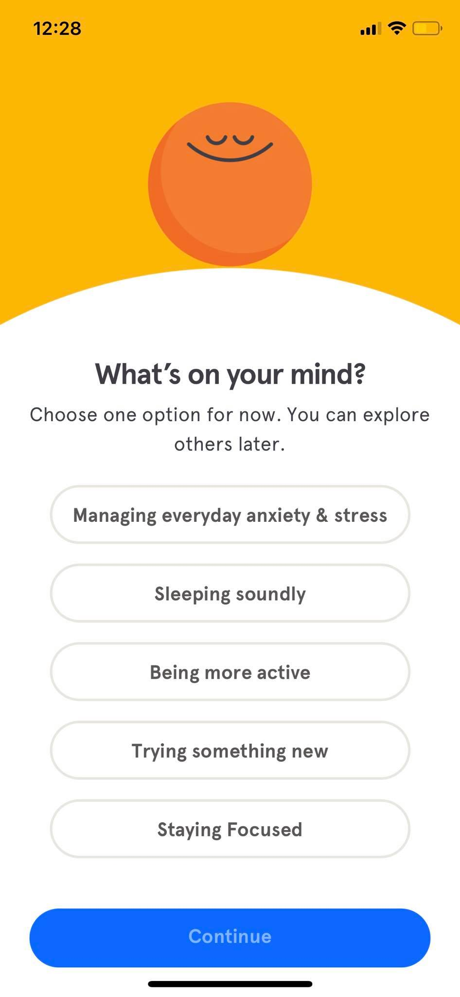 Select on iOS by Headspace from UIGarage