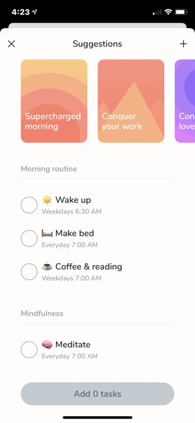 Checklist on iOS by Carpe from UIGarage