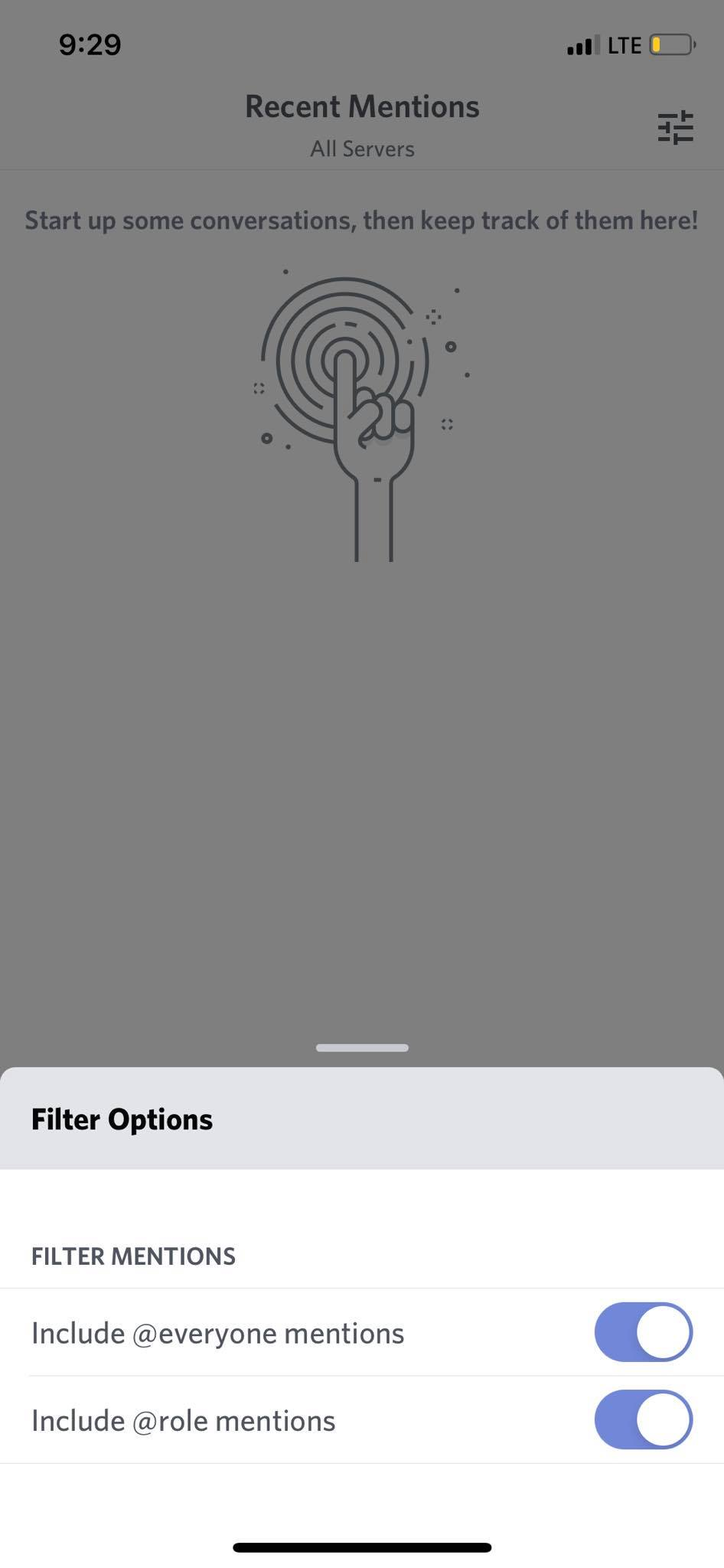Filter on iOS by Discord from UIGarage