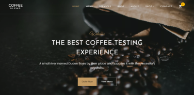 Home on Web by Coffee Blends from UIGarage