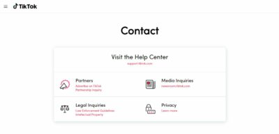 Contact Us on Web by TikTok from UIGarage