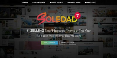 Landing page on Web by Soledad from UIGarage