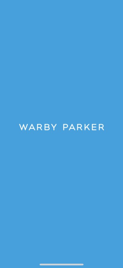Launch Screen on iOS by Warby Parker from UIGarage