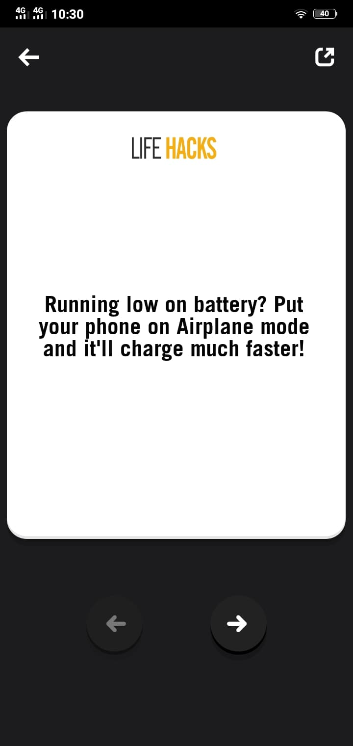 Card on Android by LifeHacks from UIGarage