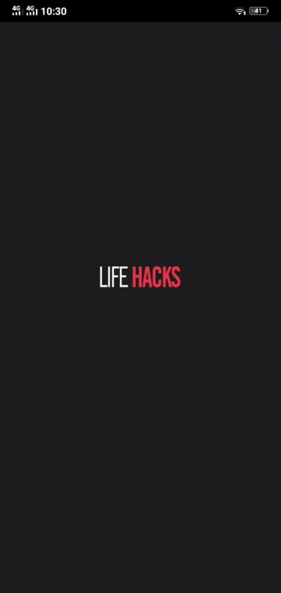 Loading Screen on Android by LifeHacks from UIGarage