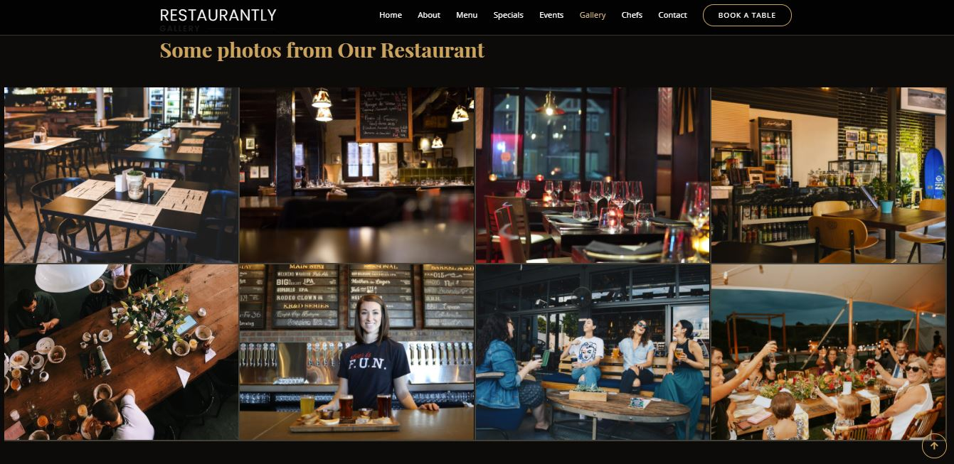 Gallery on Web by Restaurantly from UIGarage