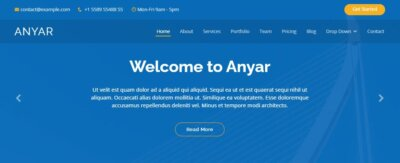 Homepage on Web by Anyar from UIGarage