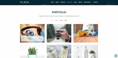 Portfolio on Web by Vlava from UIGarage