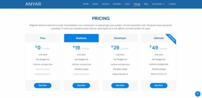 Pricing on Web by Anyar from UIGarage