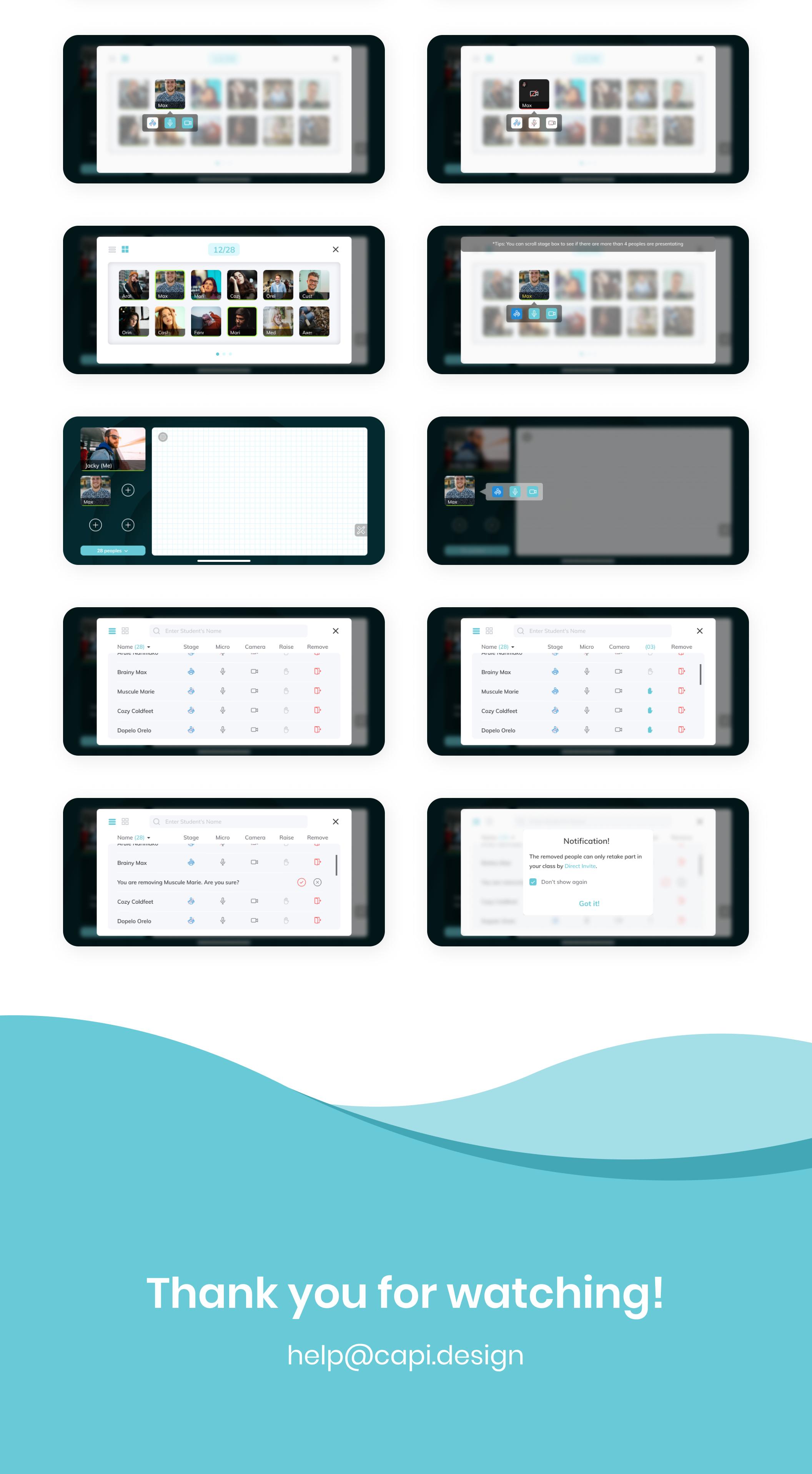 EduRoom - Online Class Room App UI from UIGarage