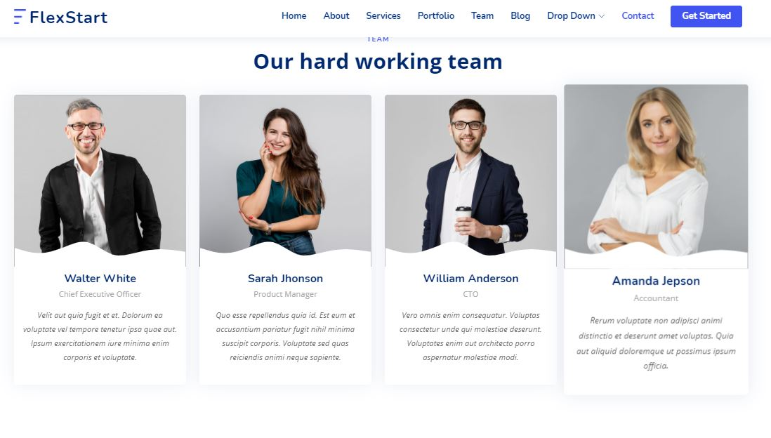 Teams on Web by FlexStart from UIGarage