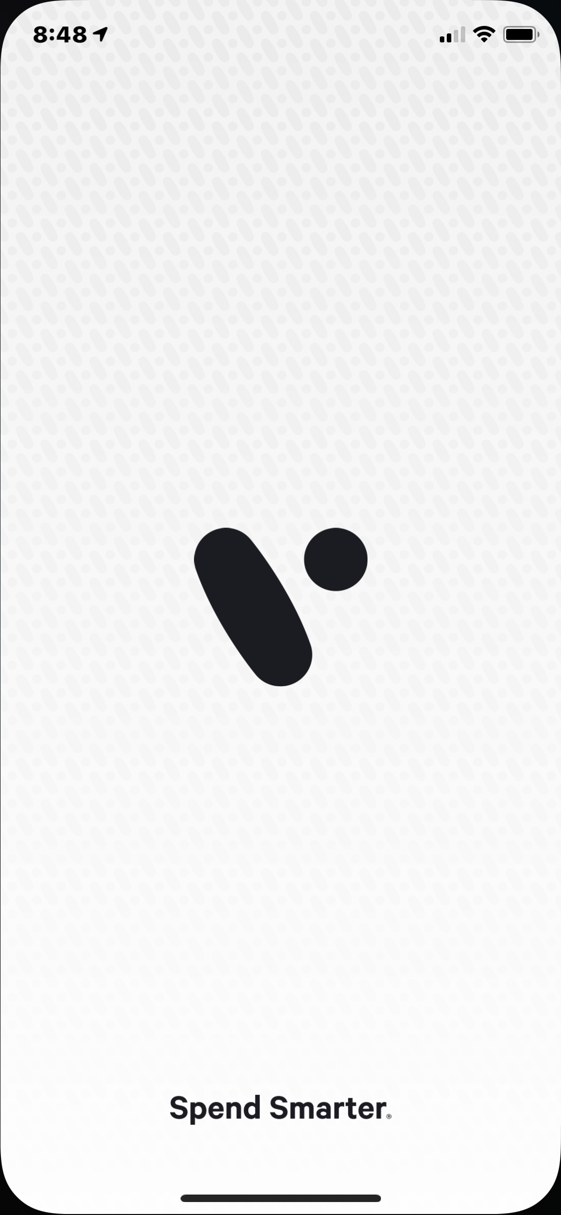 Launch Screen on iOS by Divvy from UIGarage