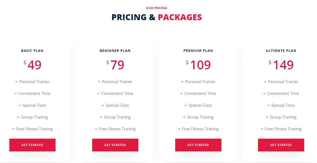 Pricing on Web by Dazko from UIGarage