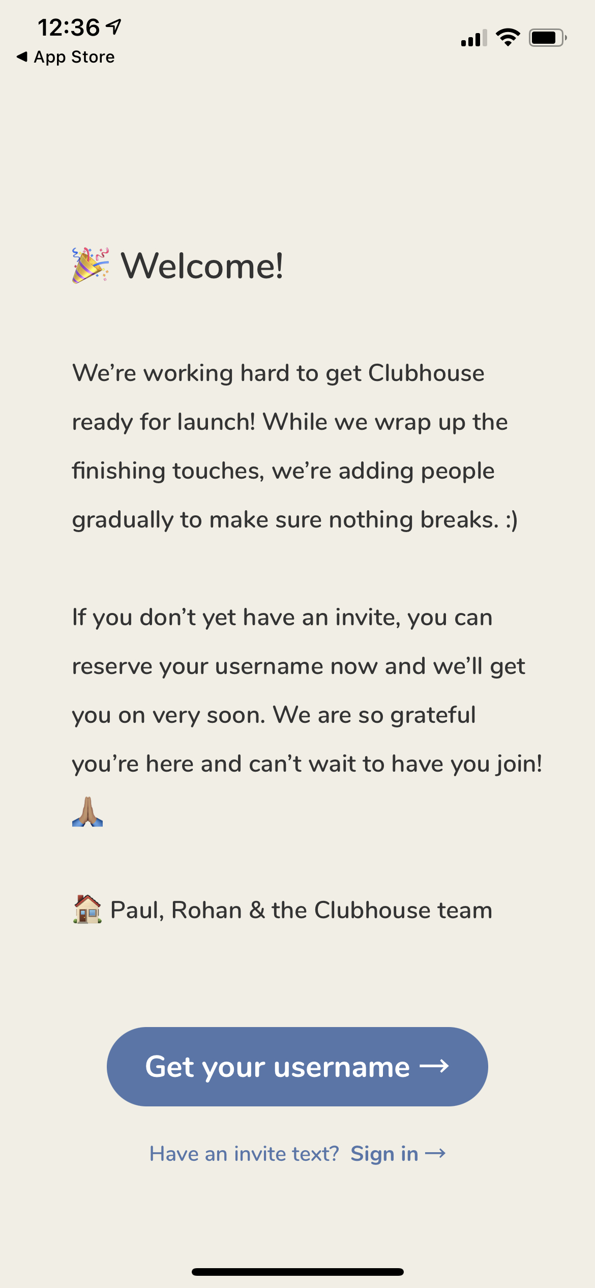 Welcome on iOS by Clubhouse from UIGarage