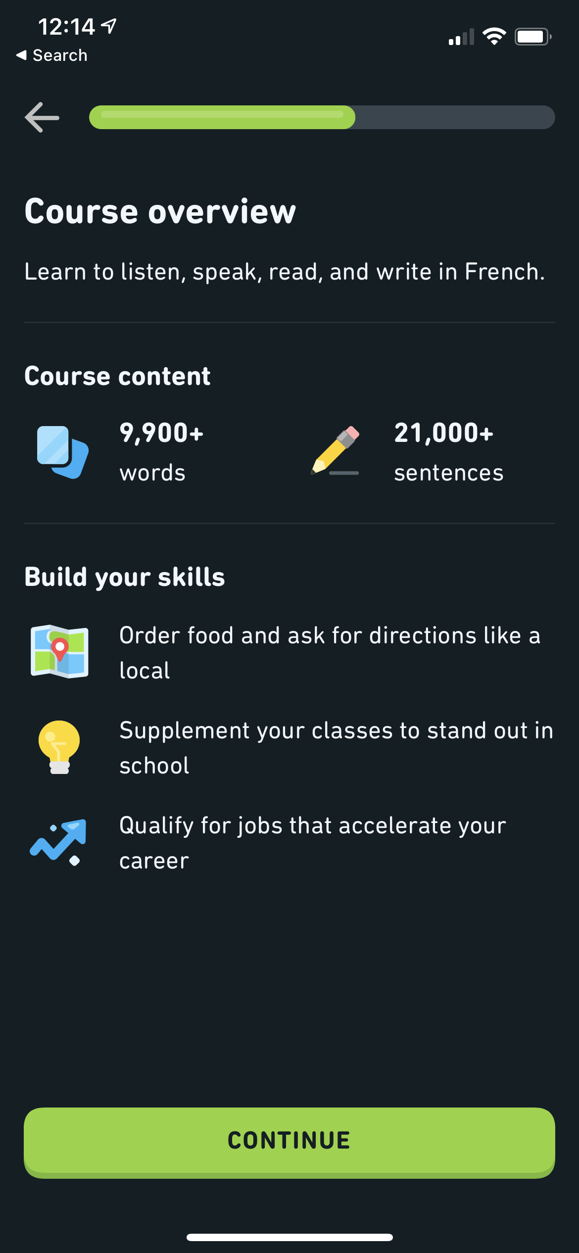 Course Overview on iOS by Duolingo from UIGarage