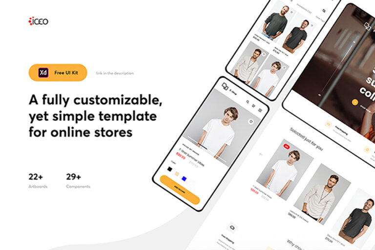 Responsive ECommerce UI Kit from UIGarage