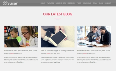 Blogs on Web by Susan from UIGarage