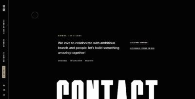 Contact Us on Web by Rogue.Studio from UIGarage