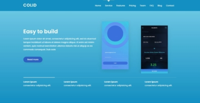Services on Web by Colid from UIGarage