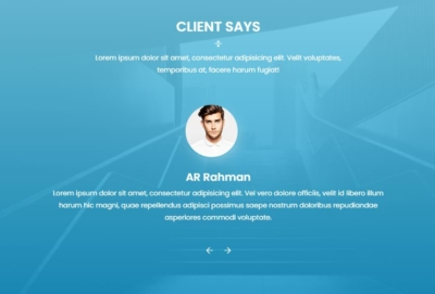 Testimonials on Web by Colid from UIGarage