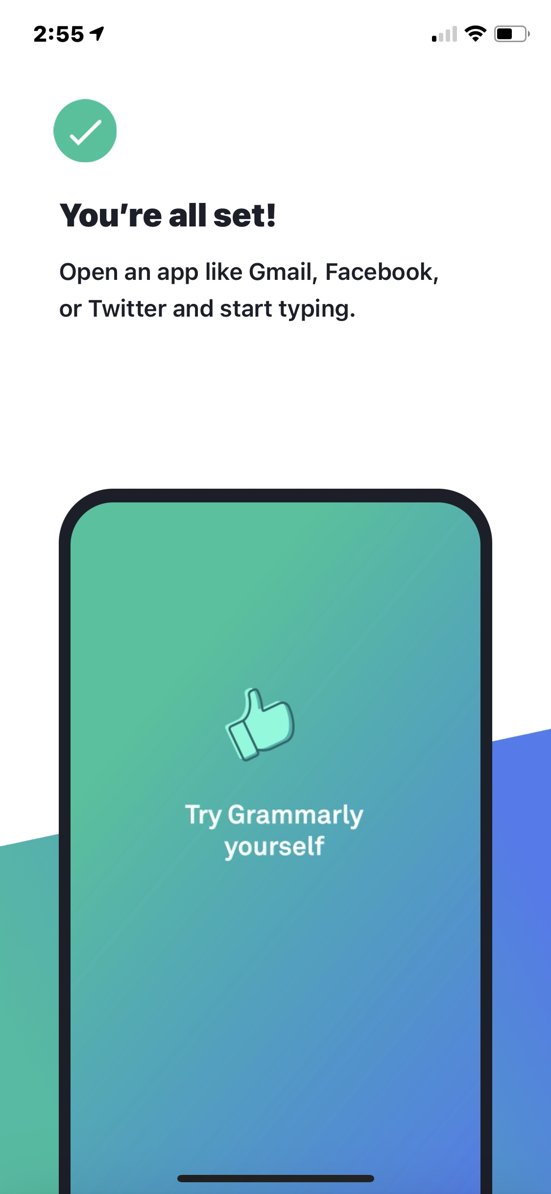 Onboarding on iOS by Grammarly from UIGarage