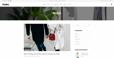 Blog List on Web by Fashe from UIGarage