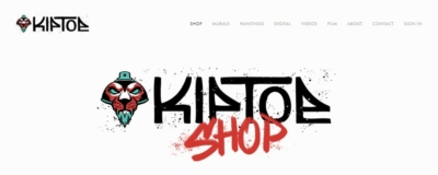 Homepage on Web by Kiptoe.com from UIGarage