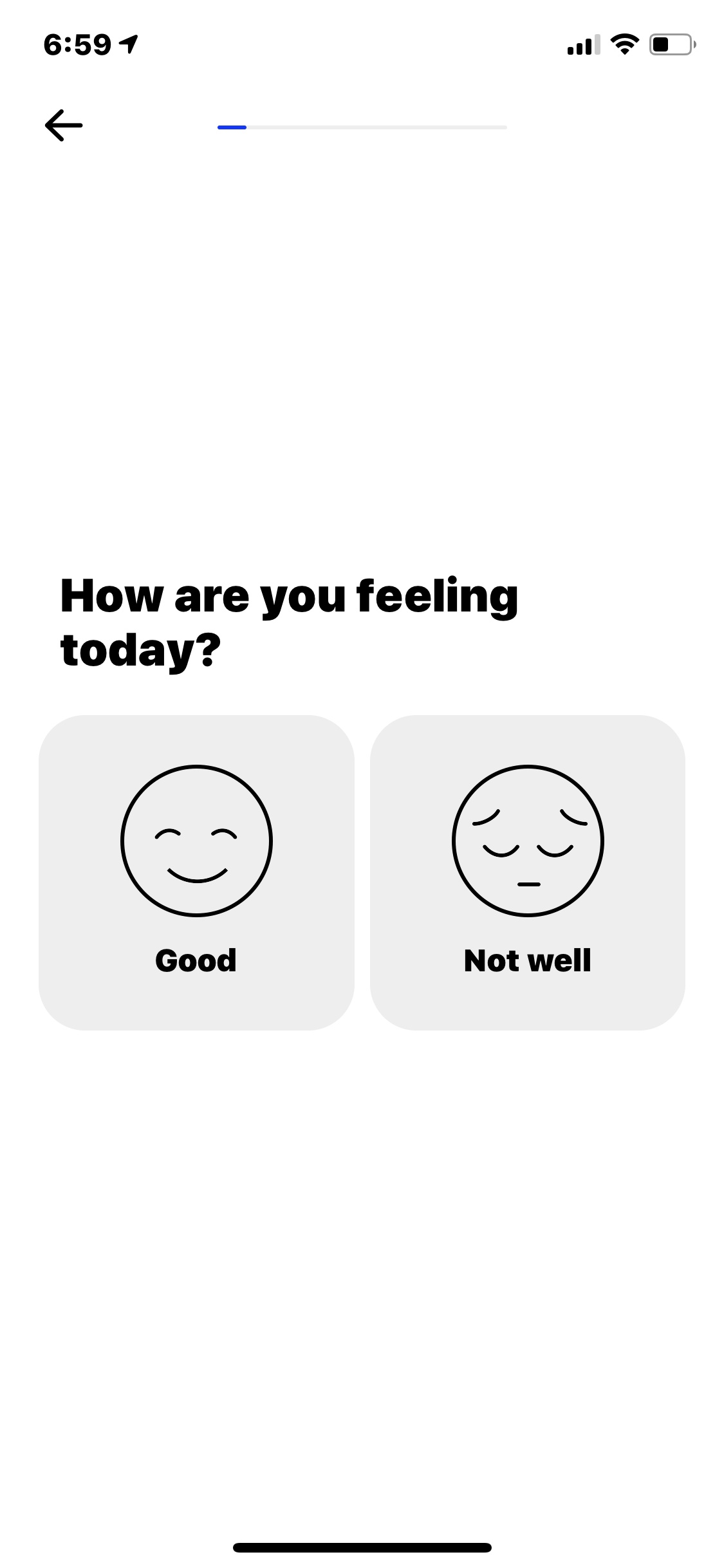 Select on iOS by How We Feel from UIGarage