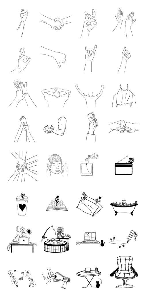 Skribbl Free Illustrations from UIGarage