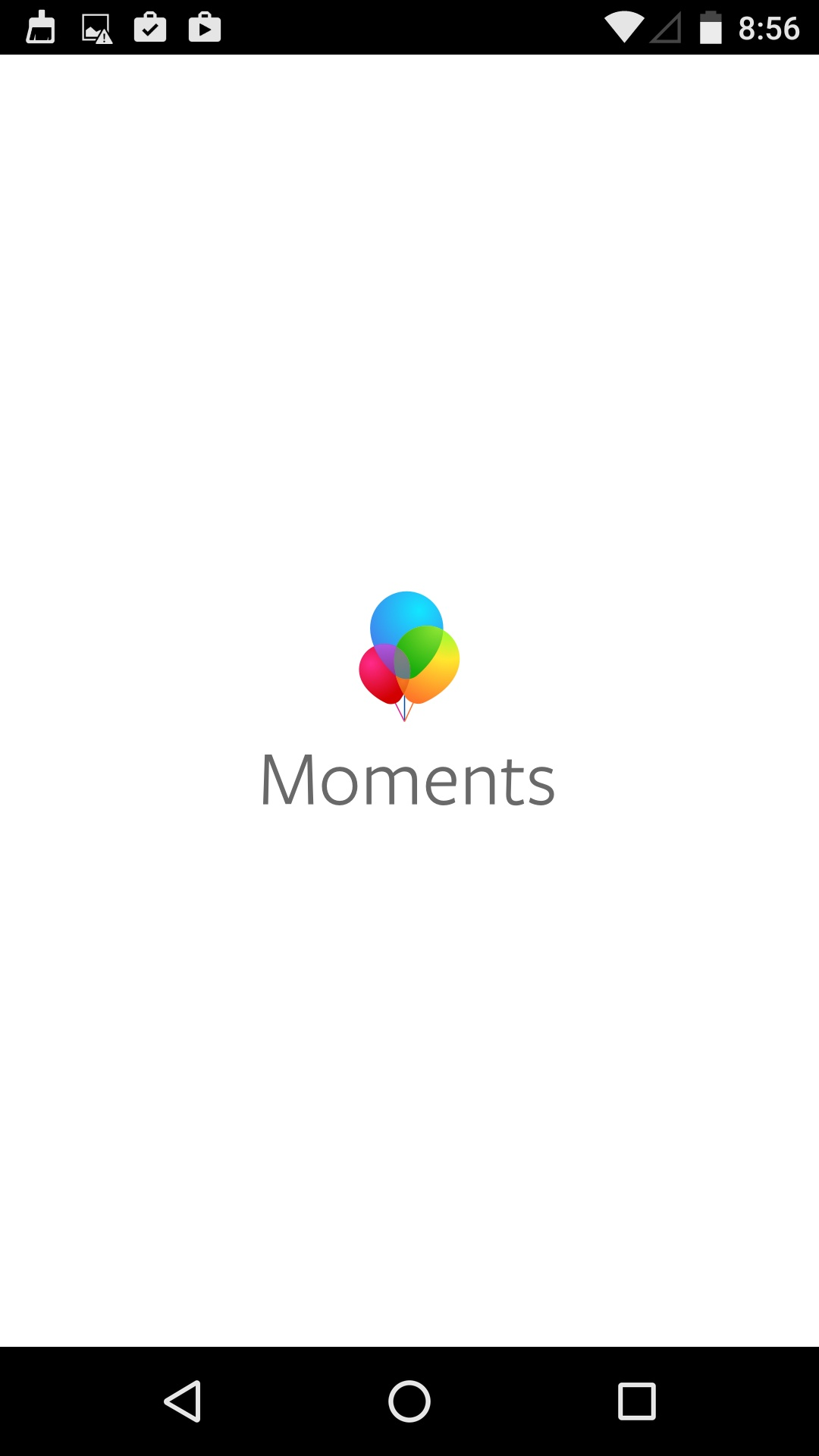 Launch Screen on Android by Moments from UIGarage