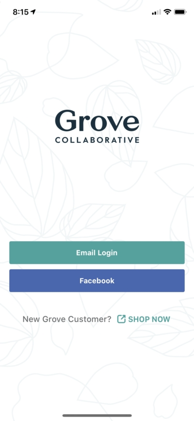 Launch Screen on iOS by Grove from UIGarage