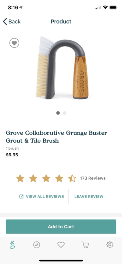 Product on iOS by Grove from UIGarage