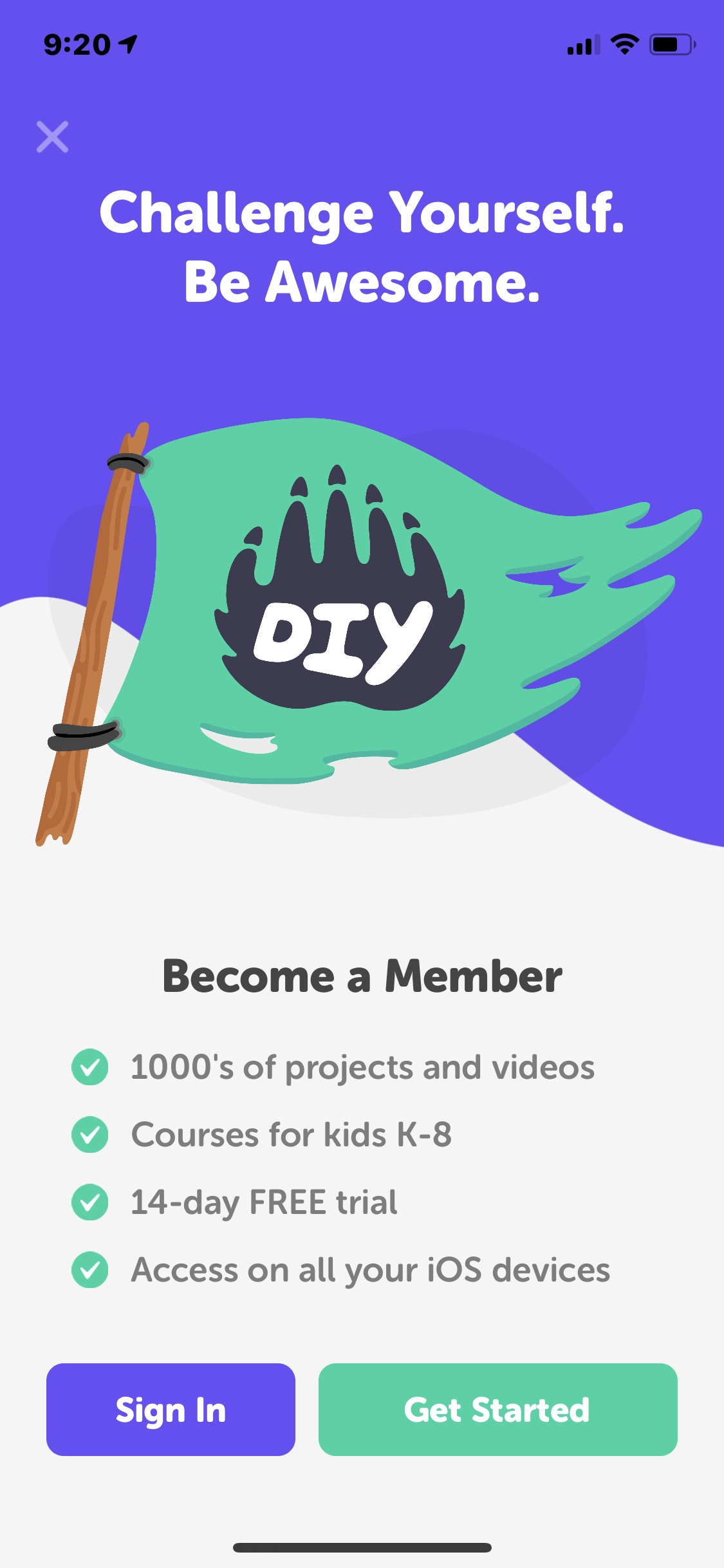 Select on iOS by DIY.org from UIGarage