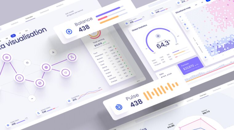 Widgets And Charts For Presentations & Dashboards from UIGarage
